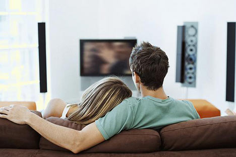"""""""Why are we watching this blurry TV?"""""""