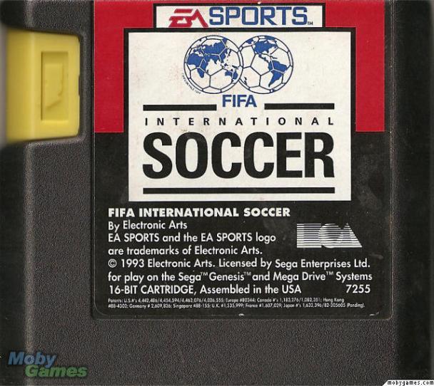 FIFA cartdridge