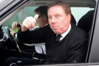 Harry Redknapp in his natural habitat.