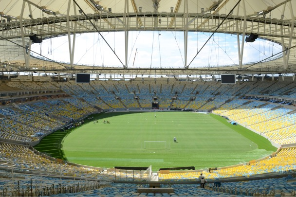 The Maracana is ready (sort of) for the World Cup. Are you?